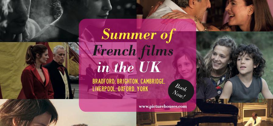 Lanzamiento del 1er Verano de Películas Francesas en el Reino Unido