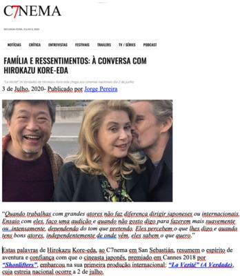 Revista de prensa – Verano del 2020