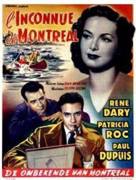 L'Inconnue de Montréal (Son copain) - Poster Belgique
