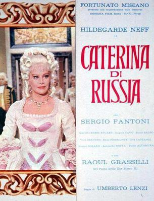 Catherine of Russia  - Poster - Italy