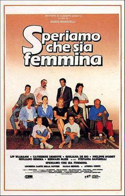 Pourvu que ce soit une fille - Poster - Italy