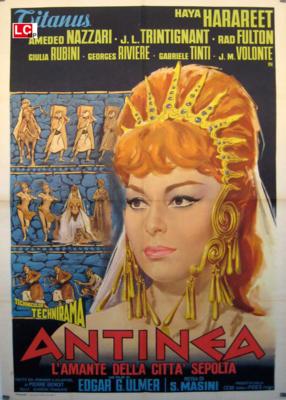 La Atlántida - Poster Italie
