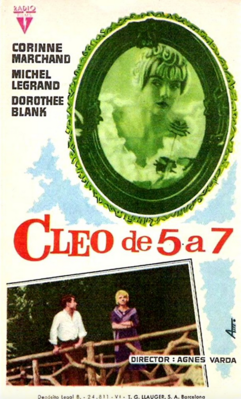Cleo from 5 to 7 - Poster - Spain