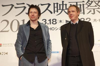 Japan: French Film Festival report - Arnaud Desplechin et Mathieu Amalric à Tokyo - © Pierre Olivier