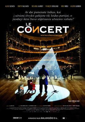 El concierto - Affiche Lituanie