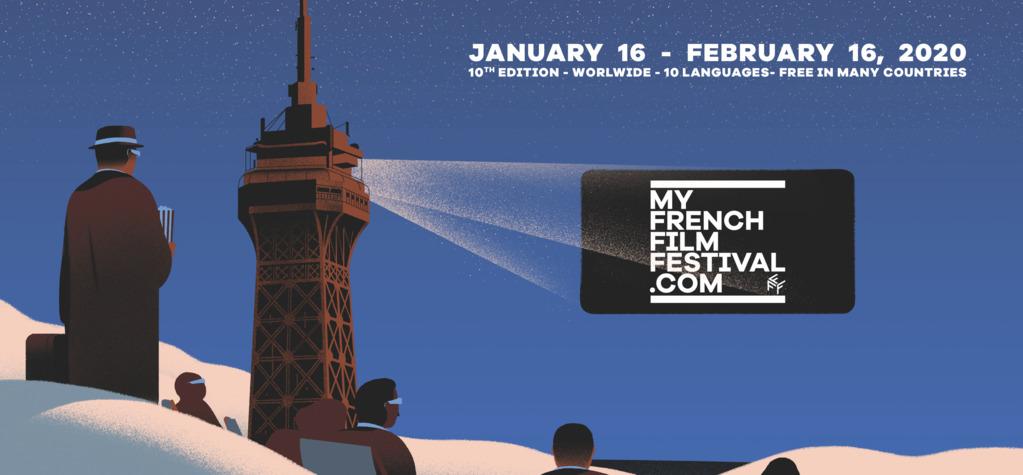 La sélection et le Jury de la 10e édition de MyFrenchFilmFestival dévoilés !