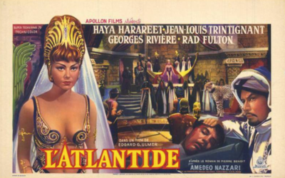 L'Atlantide - Poster Belgique