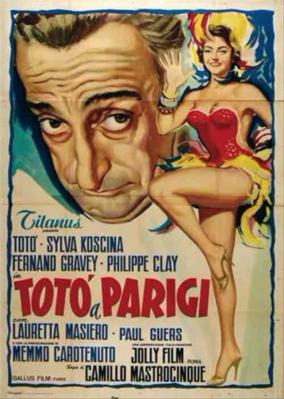 Totó en París - Poster - Italie