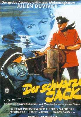 Captain Black Jack - Poster Allemagne