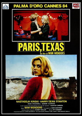 パリ、テキサス - Poster Italie