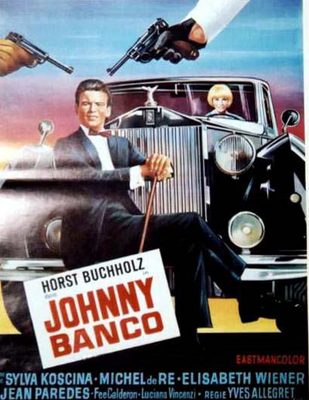 Johnny Banco - Poster Belgique