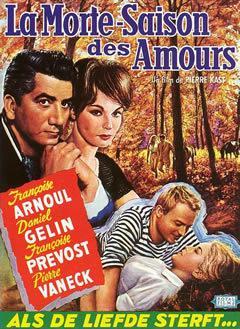La Morte-Saison des amours - Poster Belgique