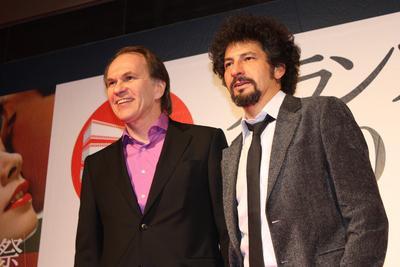 Japon : Compte rendu du Festival du film français - Radu Mihaileanu et Alexei Guskov - © Pierre Olivier