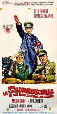 Rita the Field Marshal/The Crazy Kids of the War - Poster Italie