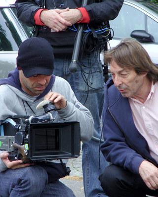 Louis-Albert Serrut - Photo tournage film Vie publique