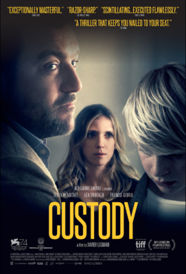 Custody - Poster - United States