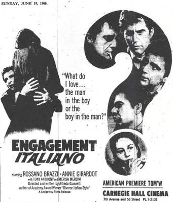 Engagement Italiano - Pavé presse Etats-Unis