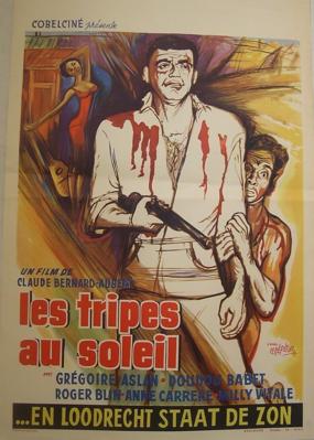 Les Tripes au soleil - Poster Belgique