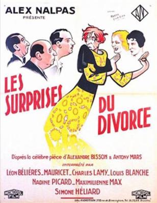 Les Surprises du divorce - Poster - Belgium