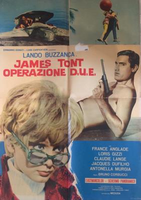 James Tont operazione D.U.E. - Poster - Italie
