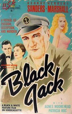 Captain Black Jack - Jaquette VHS Etats-Unis