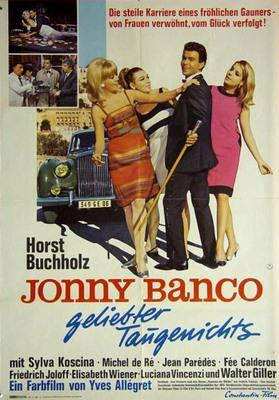 Johnny Banco - Poster Allemagne