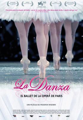 パリ・オペラ座のすべて - Affiche Espagne