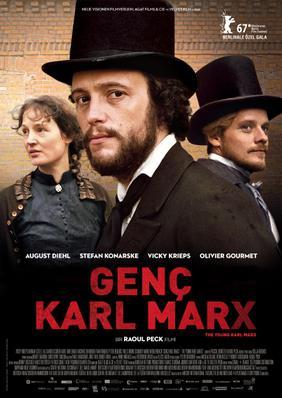 El joven Karl Marx - Poster - Turkey