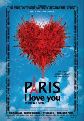 Paris, je t'aime - Affiche - Turquie