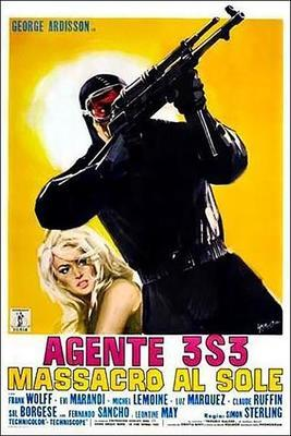 Agent 3S3, massacre au soleil - Poster - Italy
