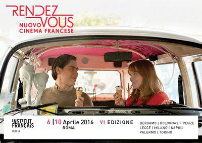 Rendez-vous avec le nouveau Cinéma français à Rome - 2016
