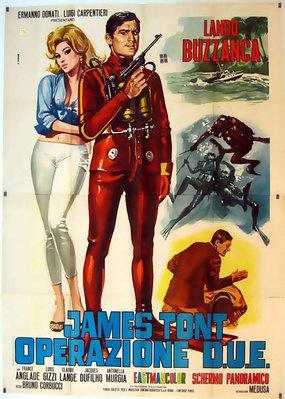 James Tont, Operación D.O.S - Poster - Italie