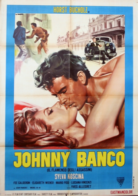 Johnny Banco - Poster Italie