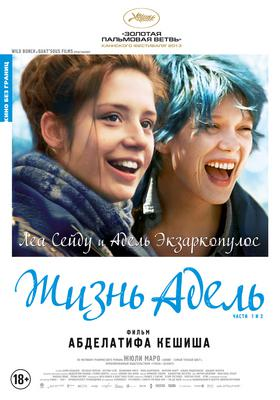 Blue is the Warmest Color - Affiche Russe