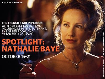 Nathalie Baye, invitada especial en Nueva York