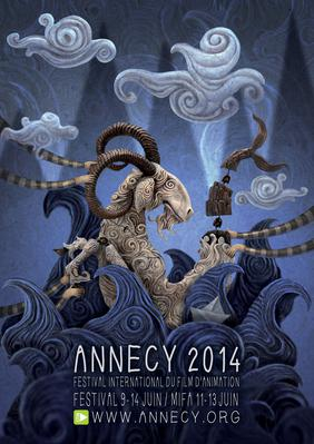 Marché international du film d'animation - Annecy - 2014