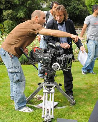 Louis-Albert Serrut - tournage film Cercle