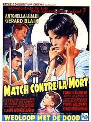 Match contre la mort - Poster Belgique