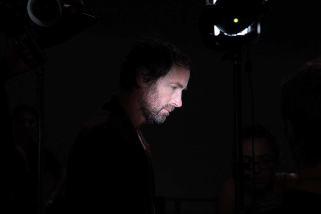 Christel Rasquin - Xavier de Guillebon - Photo de plateau