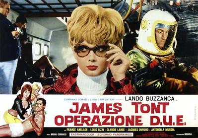 The Wacky World of James Tont  - Poster - Italie