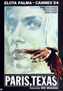 Paris, Texas - Poster Pologne