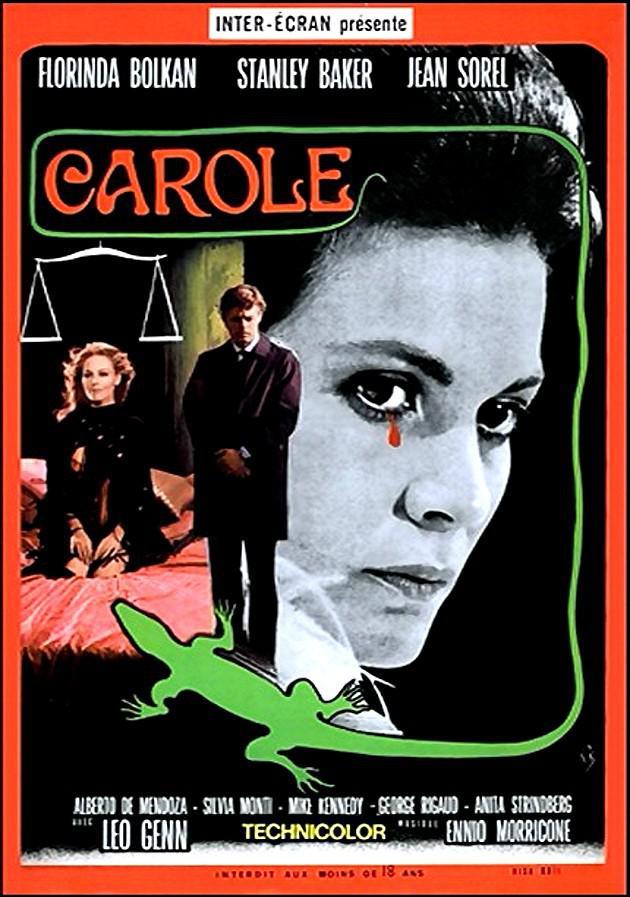 Una lagartija con piel de mujer - Poster - Italie