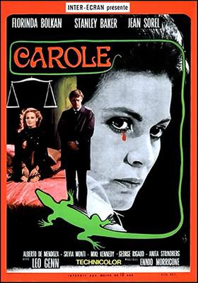 A Lizard in a Woman's Skin - Poster - Italie