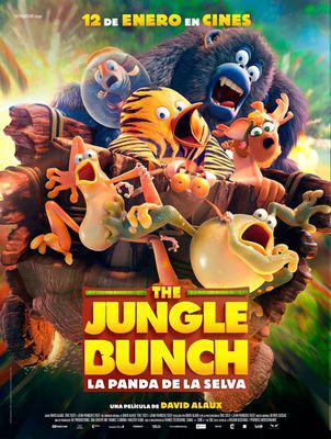 Les As de la jungle (le film) - Poster - Spain