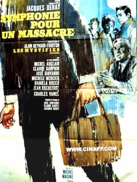 Symphonie pour un massacre - Poster France