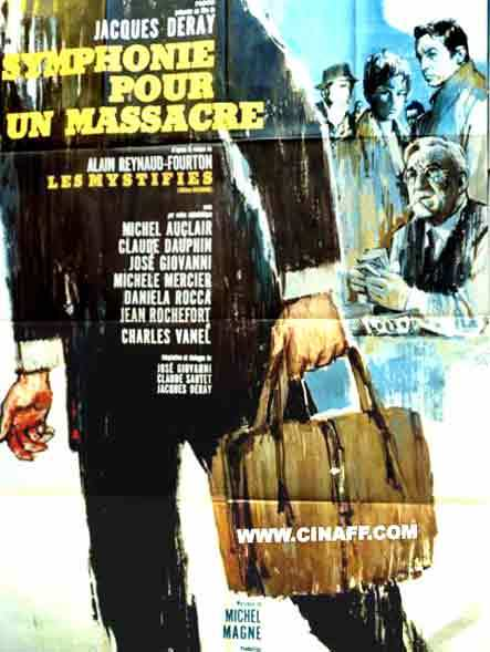 The Corrupt / The Mystifier - Poster France