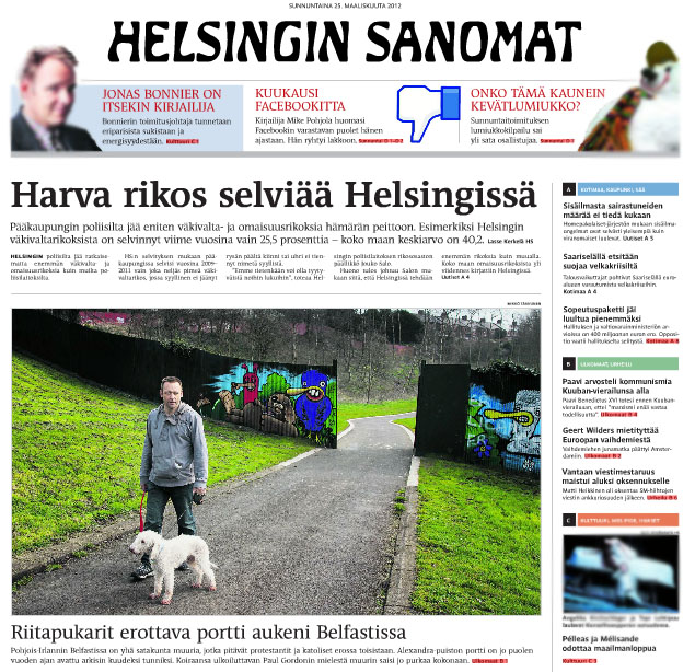 Helsingin Sanomat Jakelu