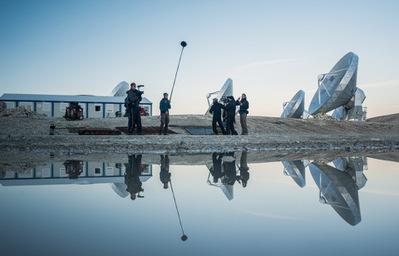 Corps célestes - Photo de plateau équipe - © Pierre Durand