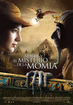 Les Aventures extraordinaires d'Adèle Blanc-Sec - Affiche Espagne