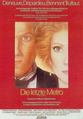 El último metro - Poster Allemagne